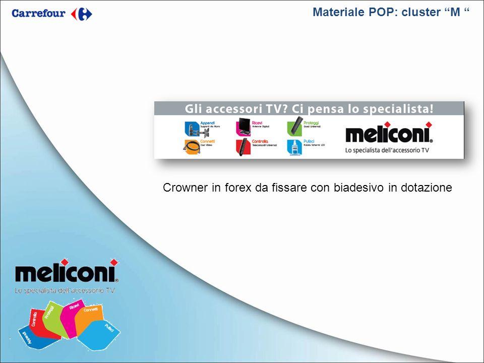 Materiale POP: cluster M