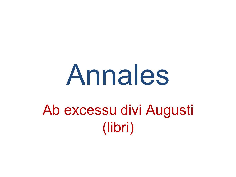 Ab excessu divi Augusti (libri)