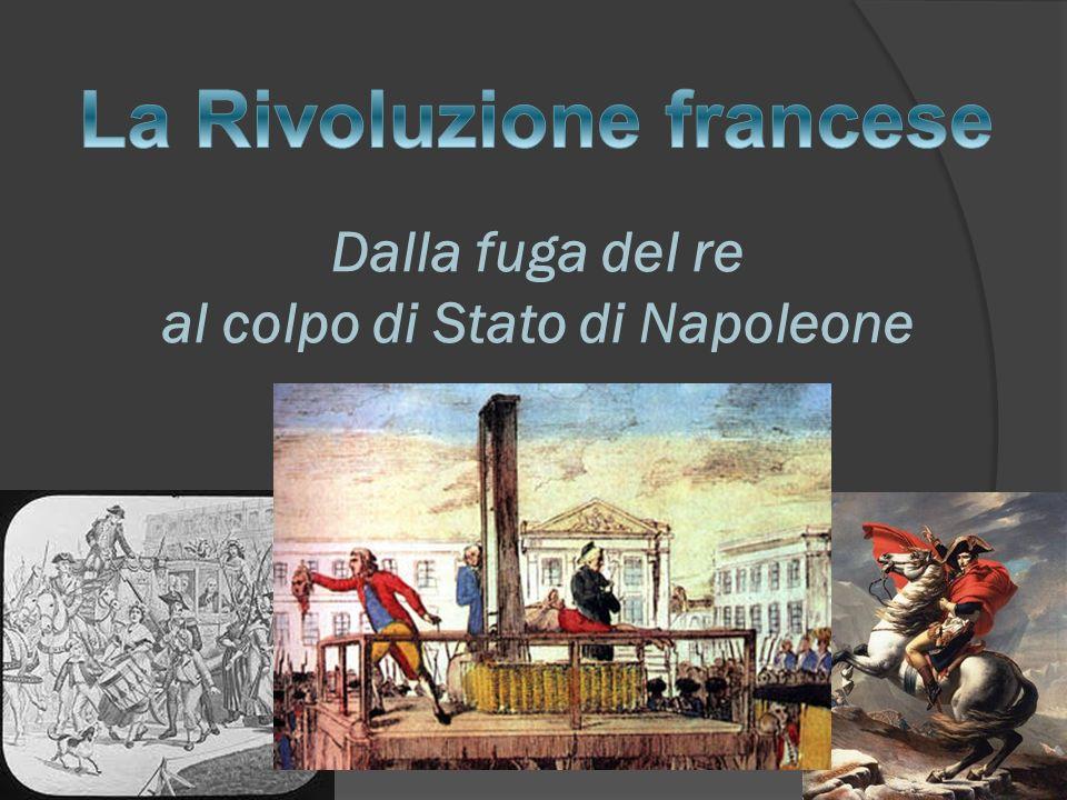 Dalla fuga del re al colpo di Stato di Napoleone