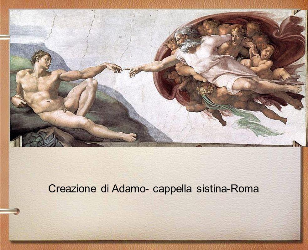 Creazione di Adamo- cappella sistina-Roma