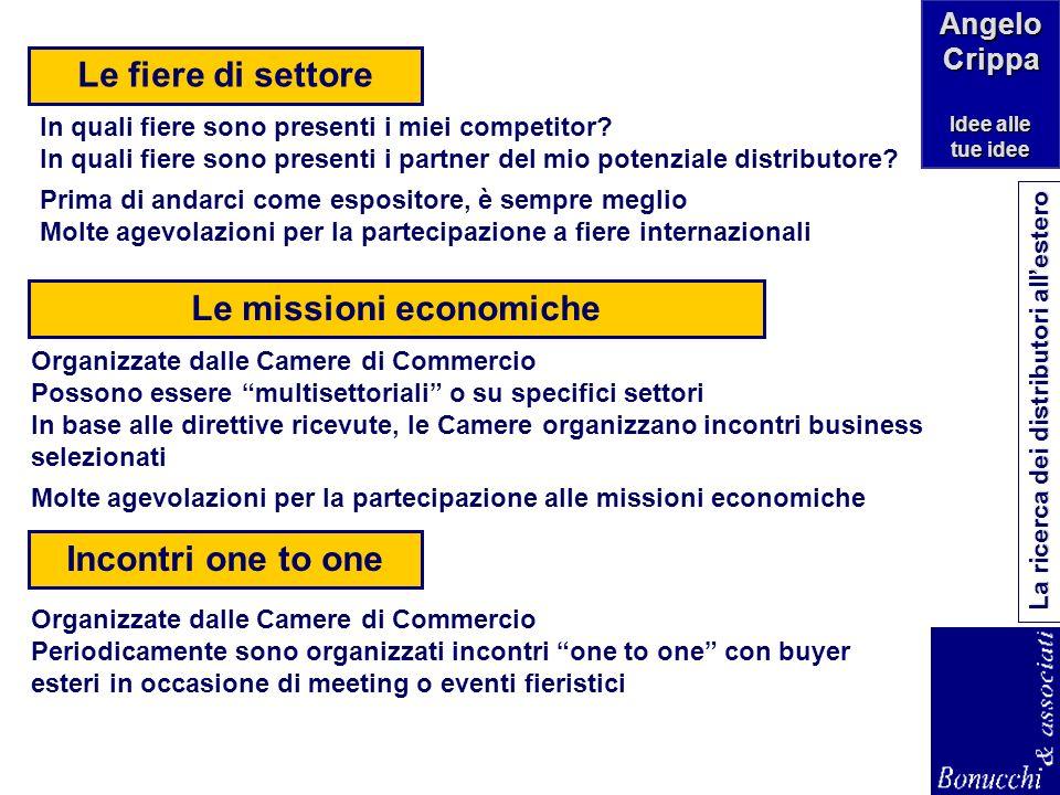 Le missioni economiche