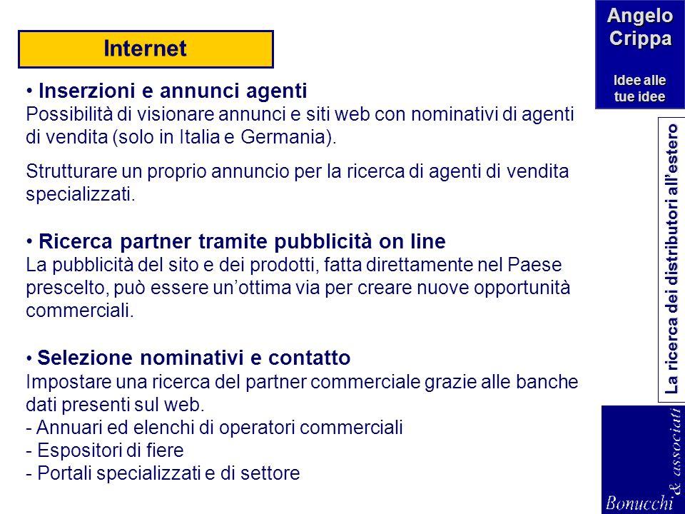 Internet Inserzioni e annunci agenti