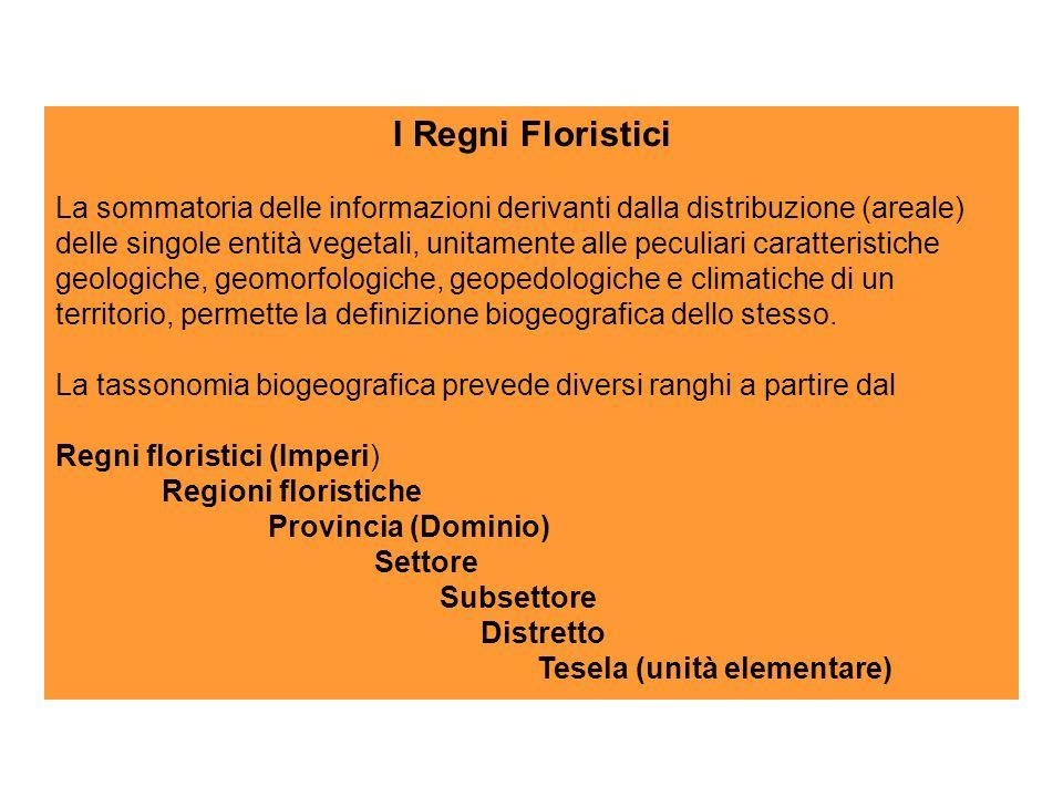 I Regni Floristici