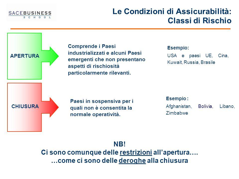 Le Condizioni di Assicurabilità: Classi di Rischio