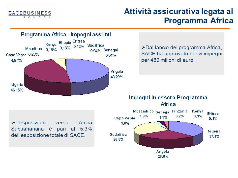 Attività assicurativa legata al Programma Africa