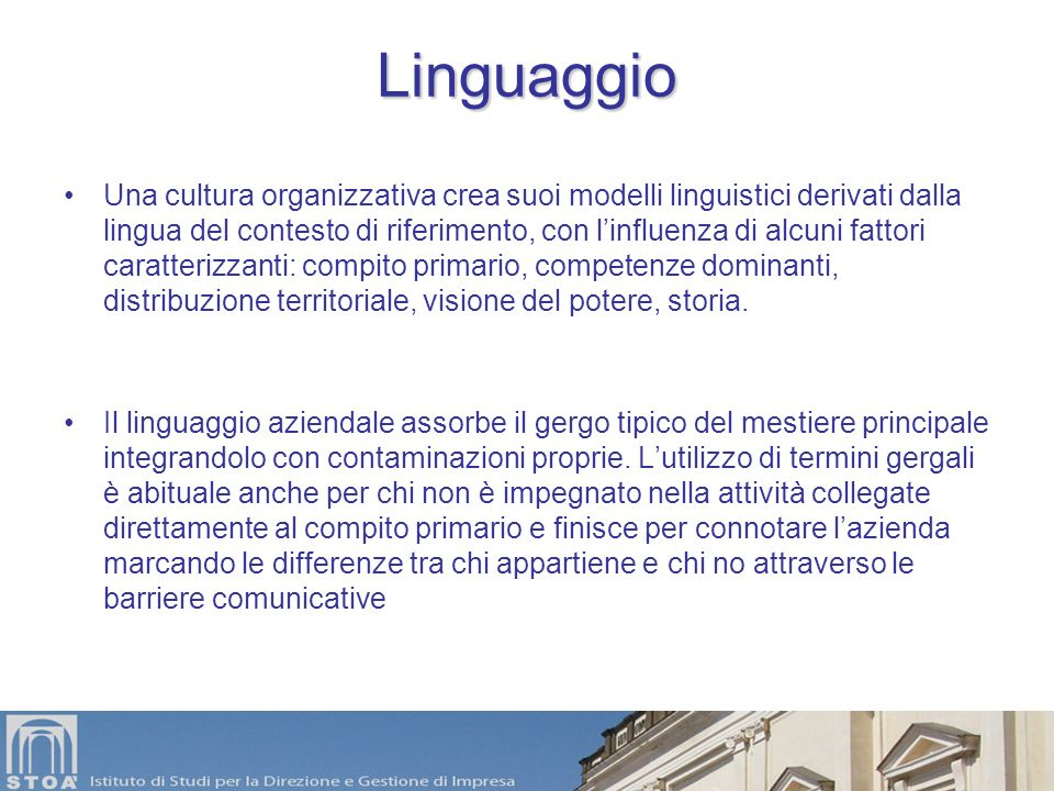 Linguaggio