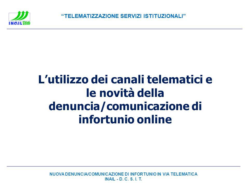 L'utilizzo dei canali telematici e