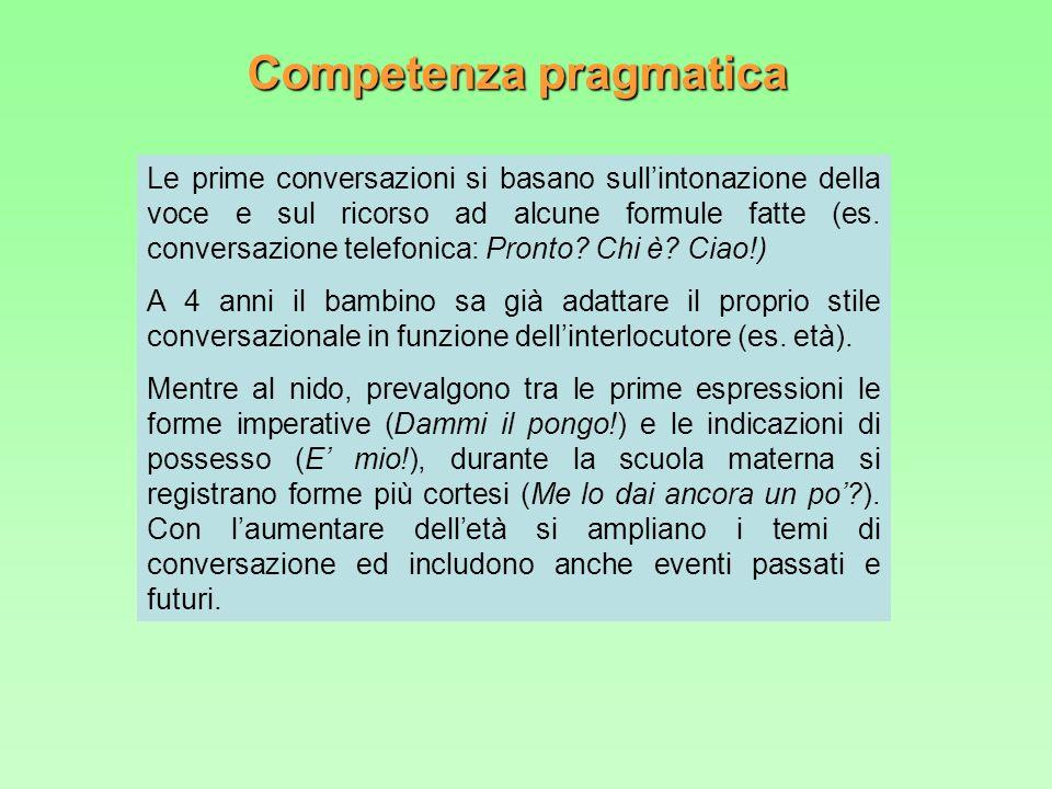 Competenza pragmatica
