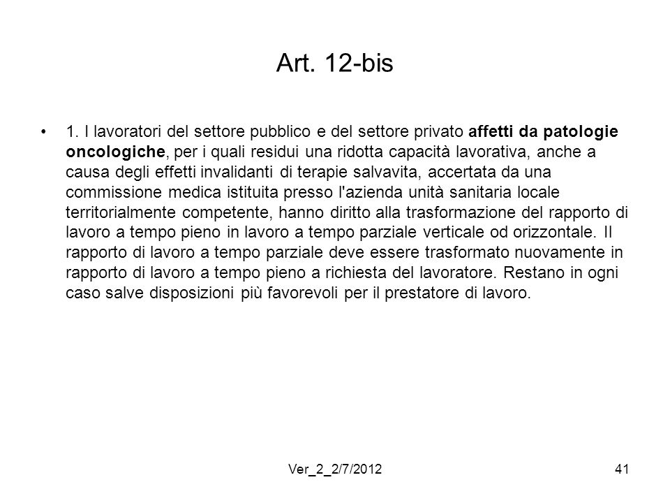Art. 12-bis