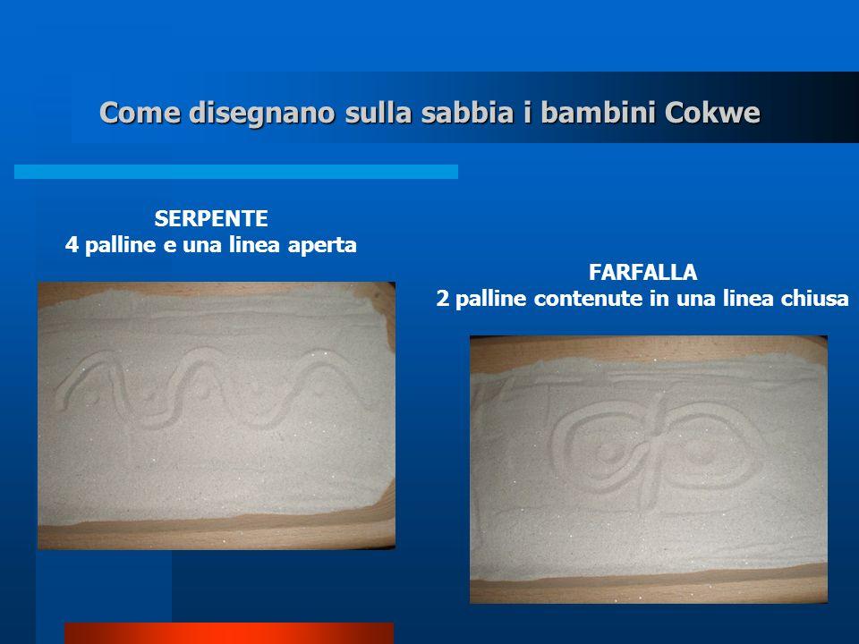Come disegnano sulla sabbia i bambini Cokwe