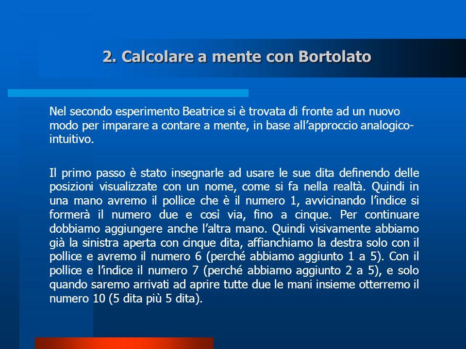 2. Calcolare a mente con Bortolato