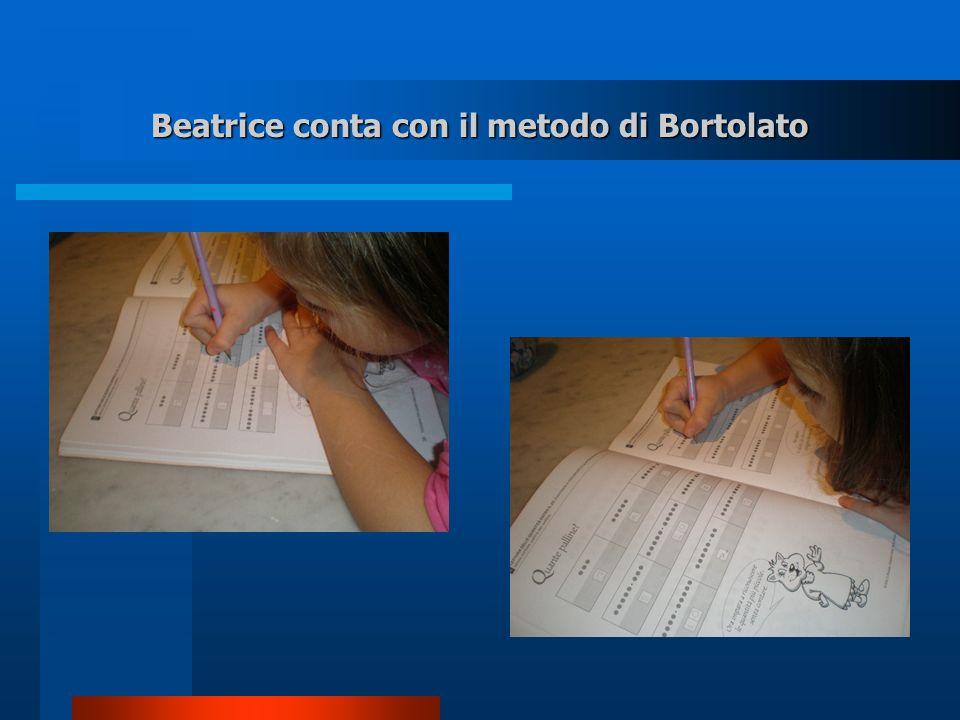 Beatrice conta con il metodo di Bortolato