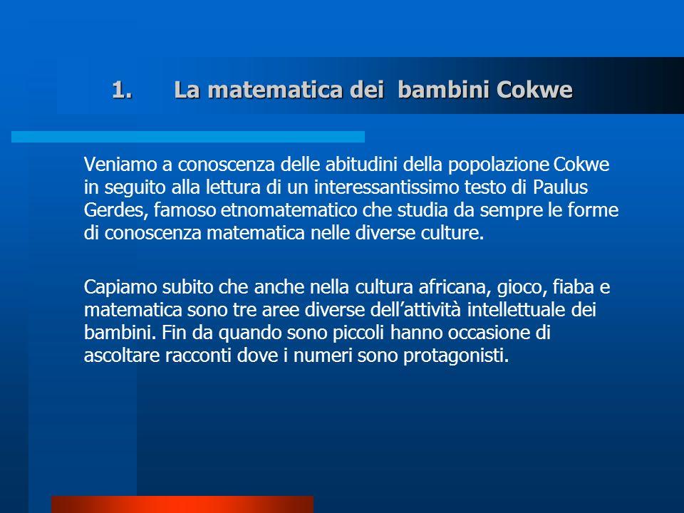 La matematica dei bambini Cokwe