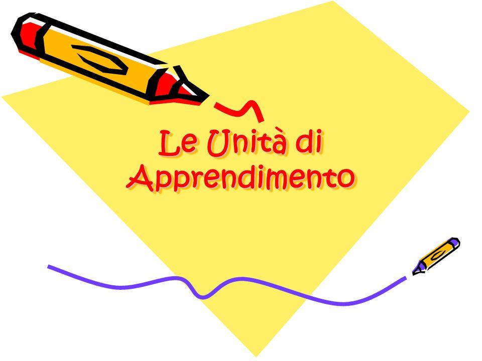 Le Unità di Apprendimento