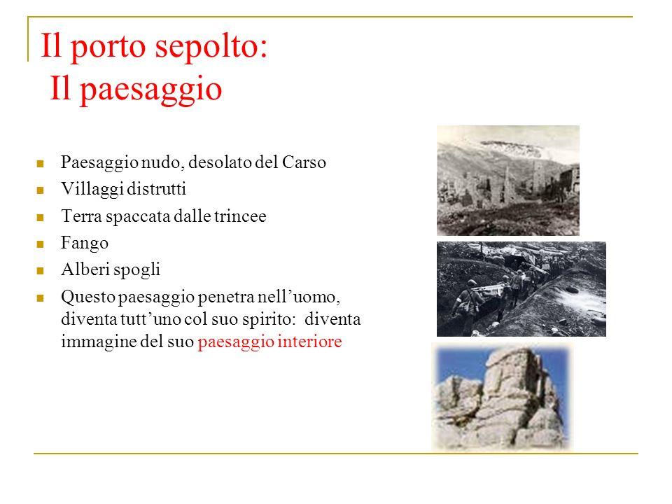 Il porto sepolto: Il paesaggio