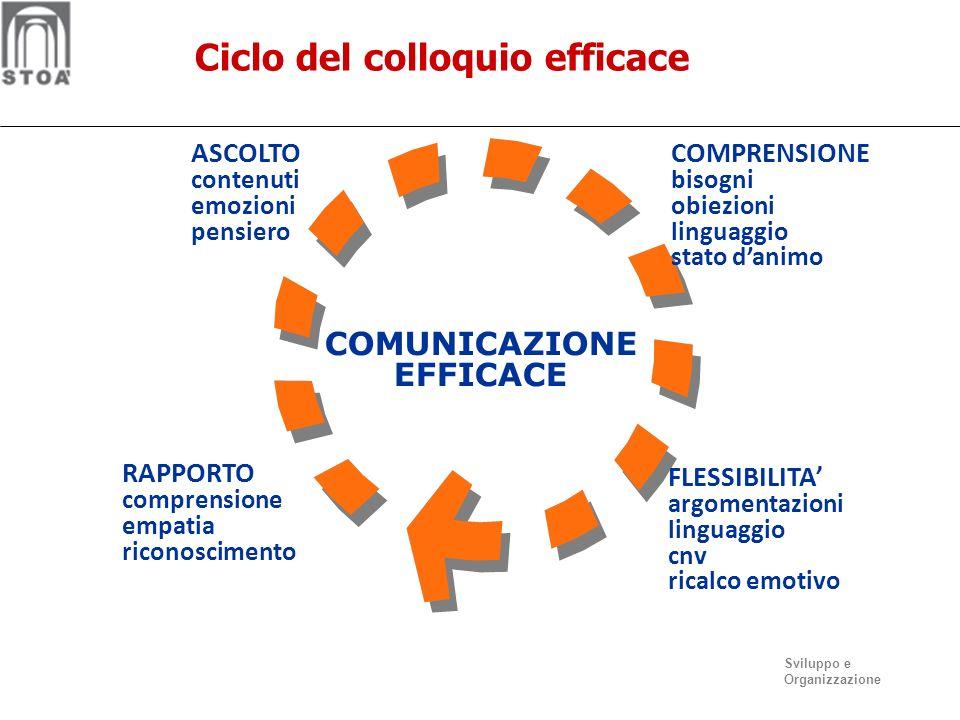 Ciclo del colloquio efficace