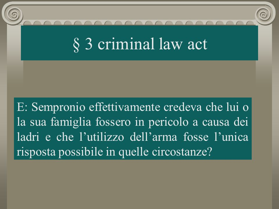 § 3 criminal law act