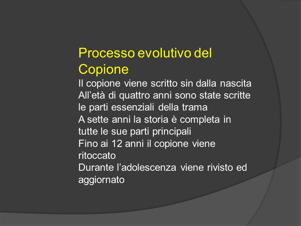 Processo evolutivo del Copione