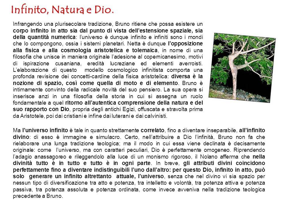 Infinito, Natura e Dio.