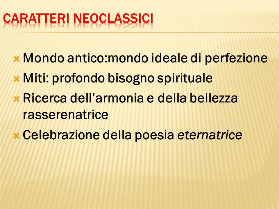 Caratteri neoclassici