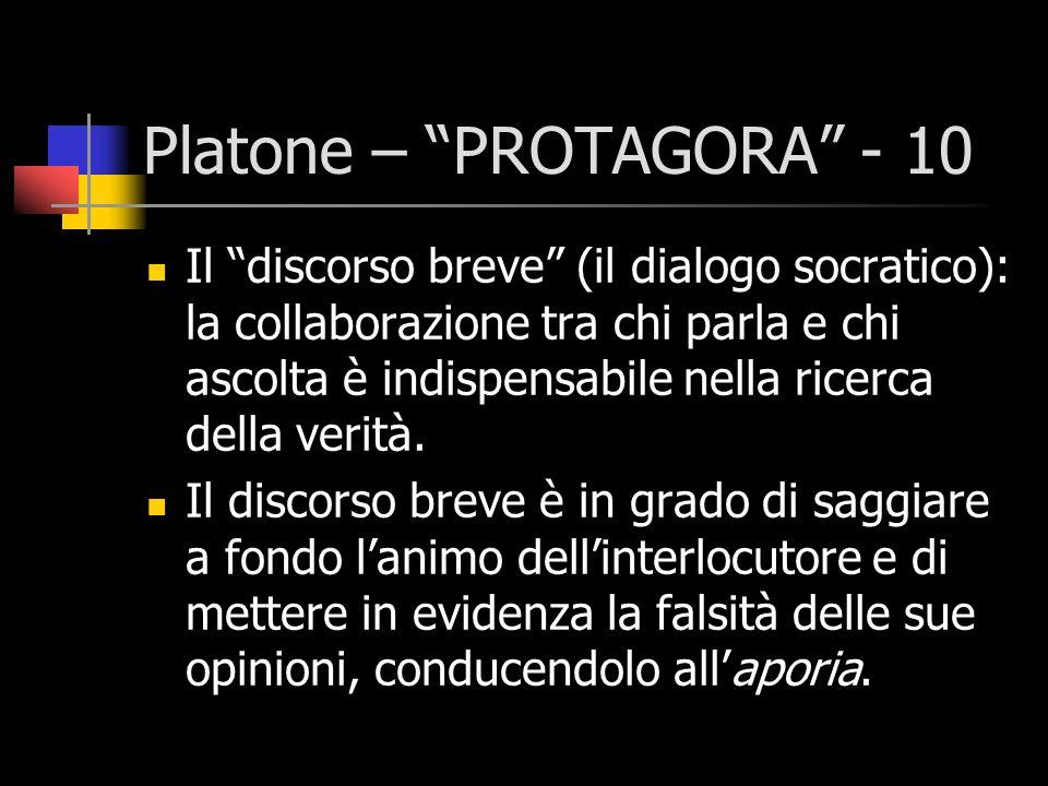 Platone – PROTAGORA - 10