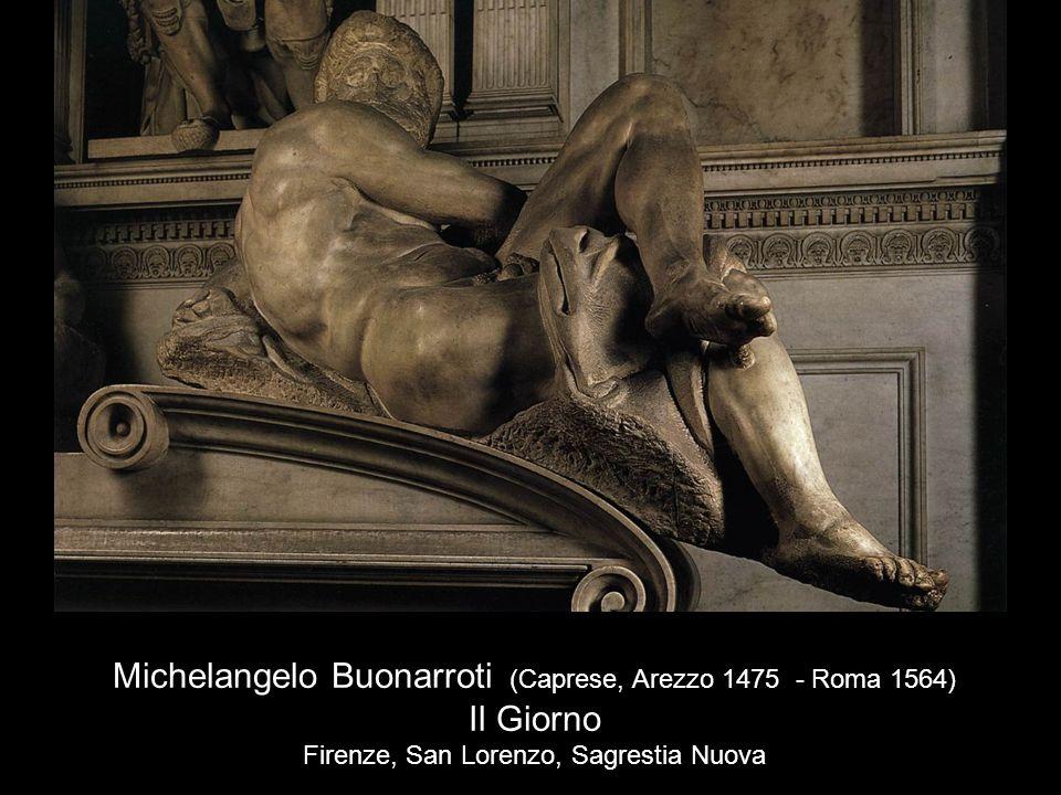 Michelangelo Buonarroti (Caprese, Arezzo 1475 - Roma 1564) Il Giorno