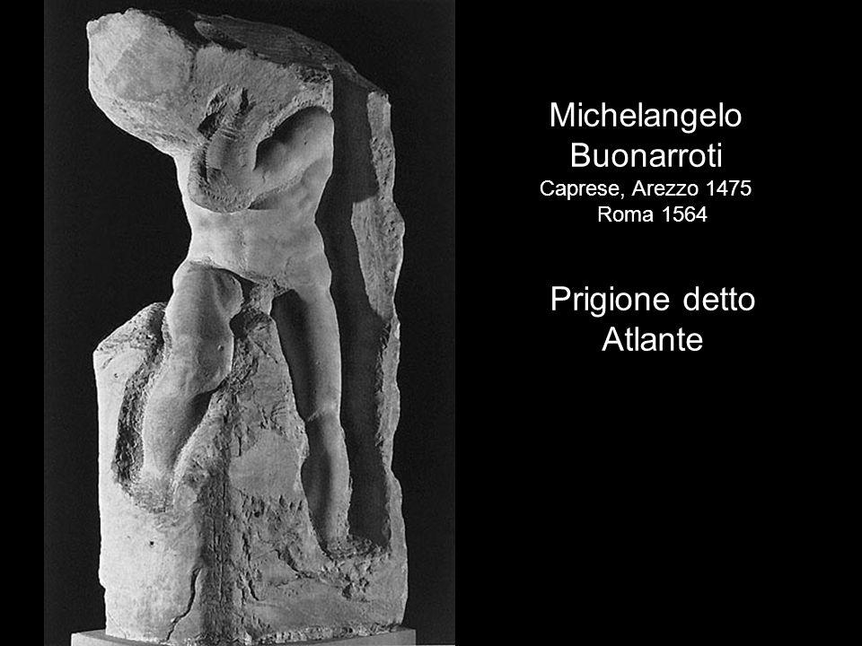 Michelangelo Buonarroti Prigione detto Atlante Caprese, Arezzo 1475