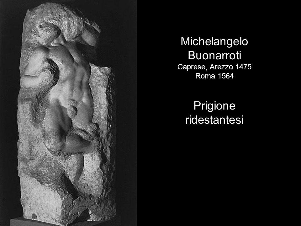 Michelangelo Buonarroti Prigione ridestantesi Caprese, Arezzo 1475
