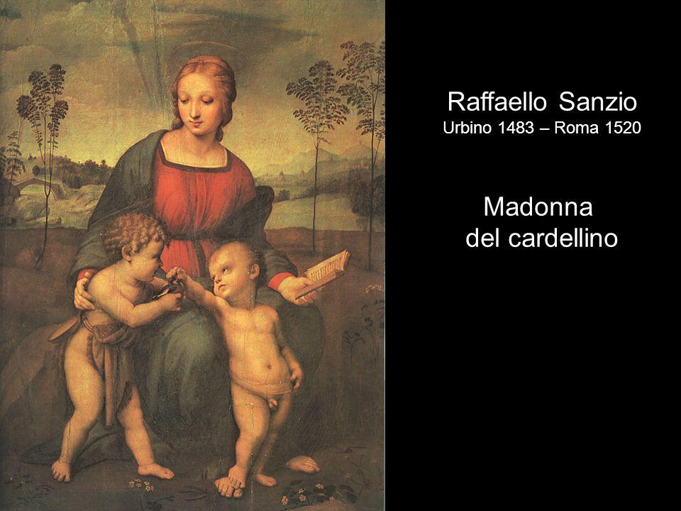 Raffaello Sanzio Urbino 1483 – Roma 1520 Madonna del cardellino