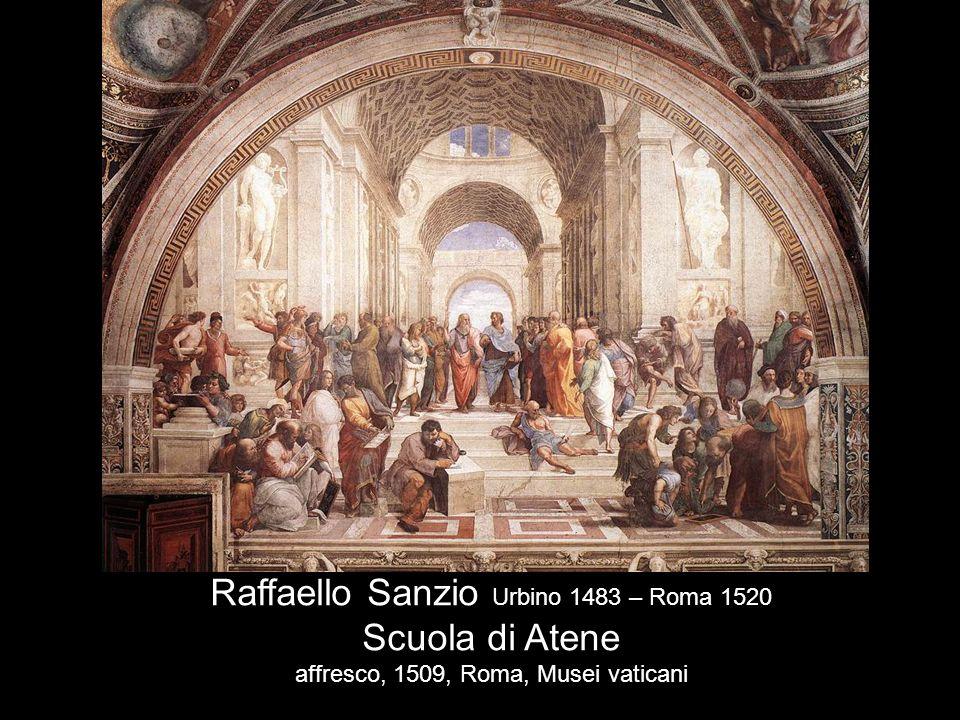 Raffaello Sanzio Urbino 1483 – Roma 1520 Scuola di Atene