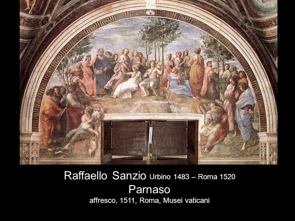 Raffaello Sanzio Urbino 1483 – Roma 1520 Parnaso