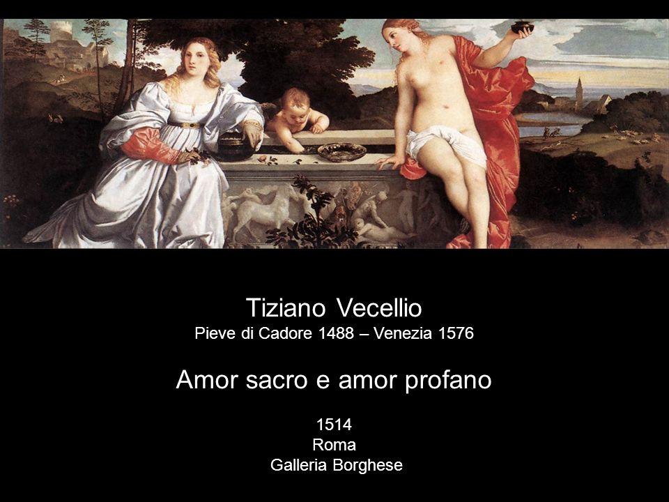 Amor sacro e amor profano