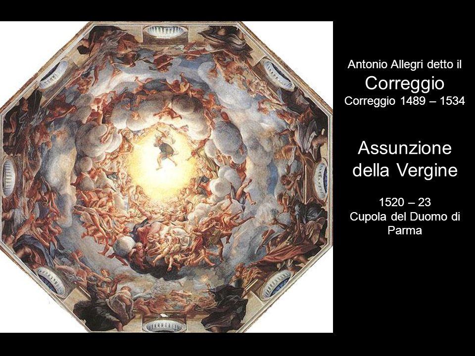 Correggio Assunzione della Vergine Antonio Allegri detto il