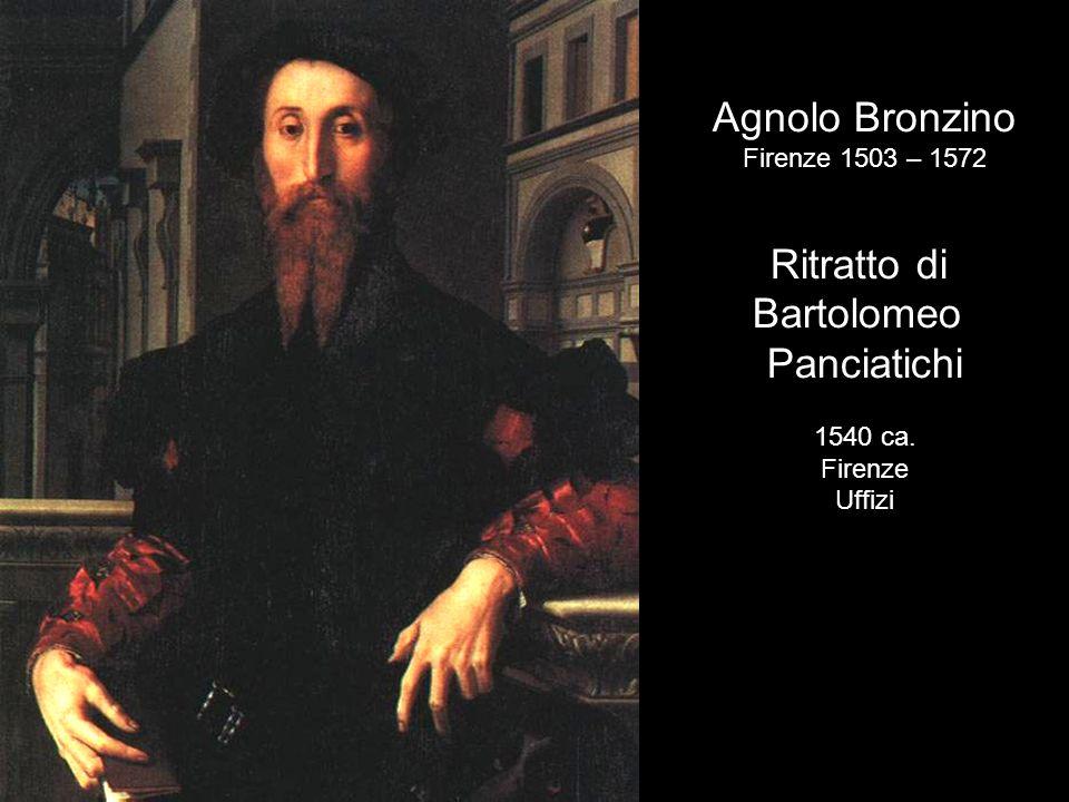 Agnolo Bronzino Ritratto di Bartolomeo Panciatichi Firenze 1503 – 1572