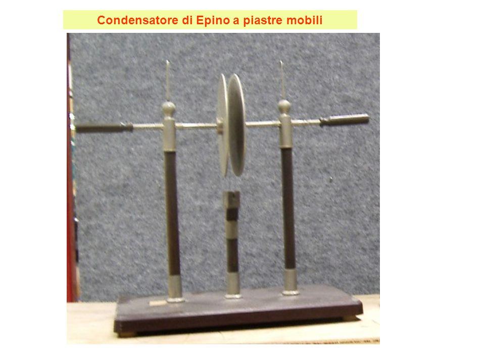 Condensatore di Epino a piastre mobili