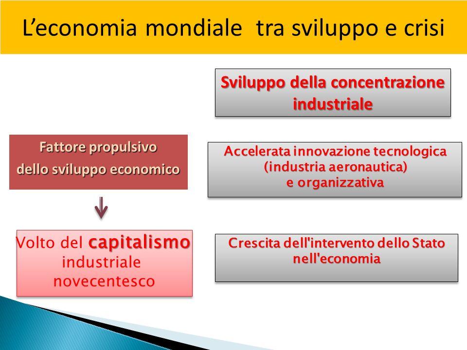 L'economia mondiale tra sviluppo e crisi