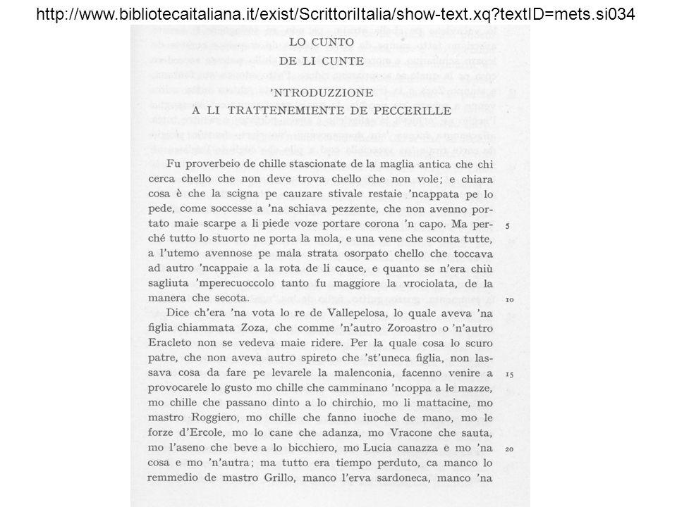http://www. bibliotecaitaliana. it/exist/ScrittoriItalia/show-text. xq