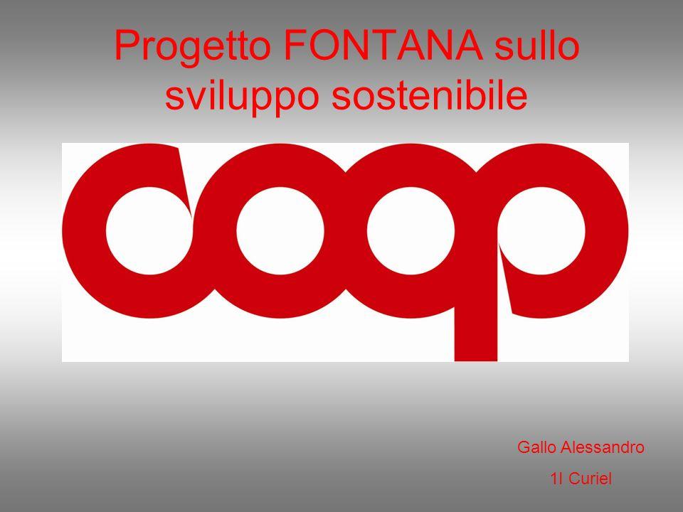 Progetto FONTANA sullo sviluppo sostenibile