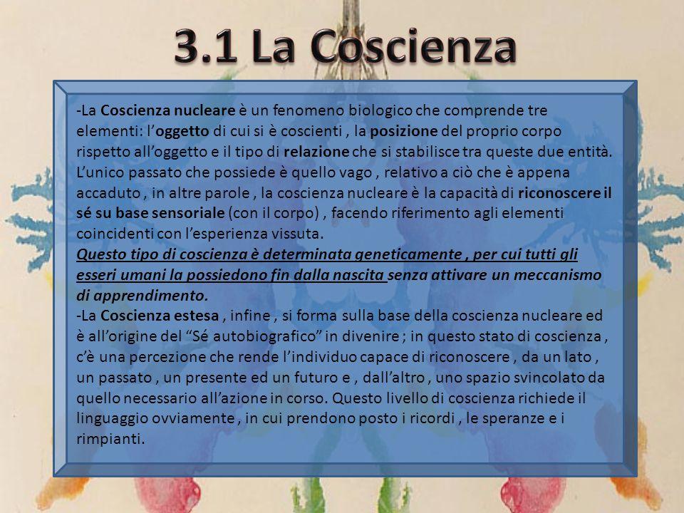 3.1 La Coscienza