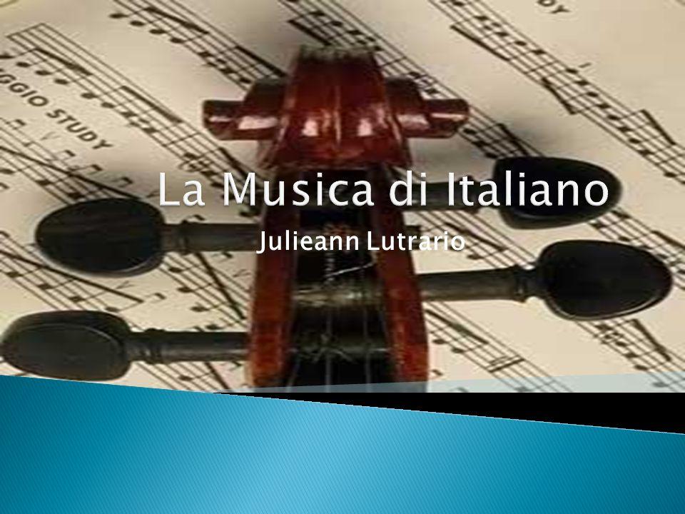 La Musica di Italiano Julieann Lutrario
