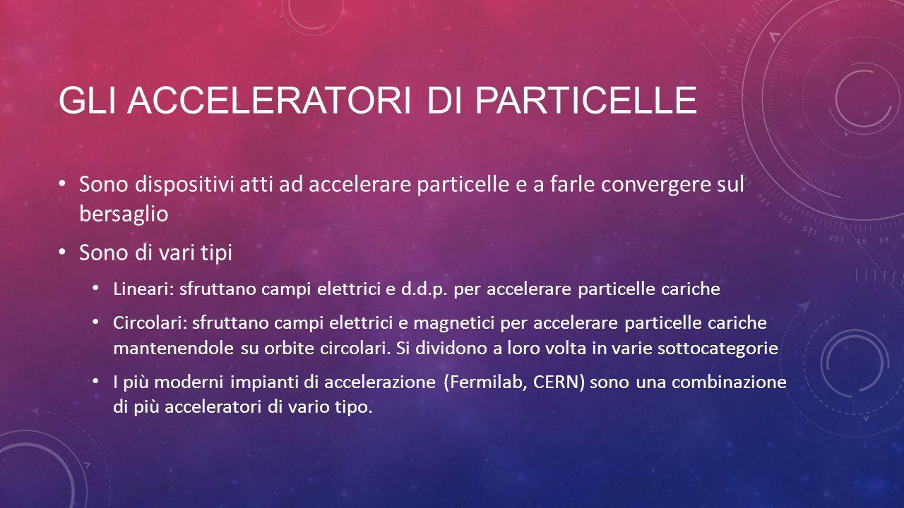 Gli acceleratori di particelle