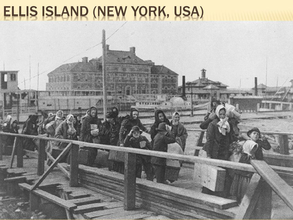 ELLIS iSLAND (New York, USA)