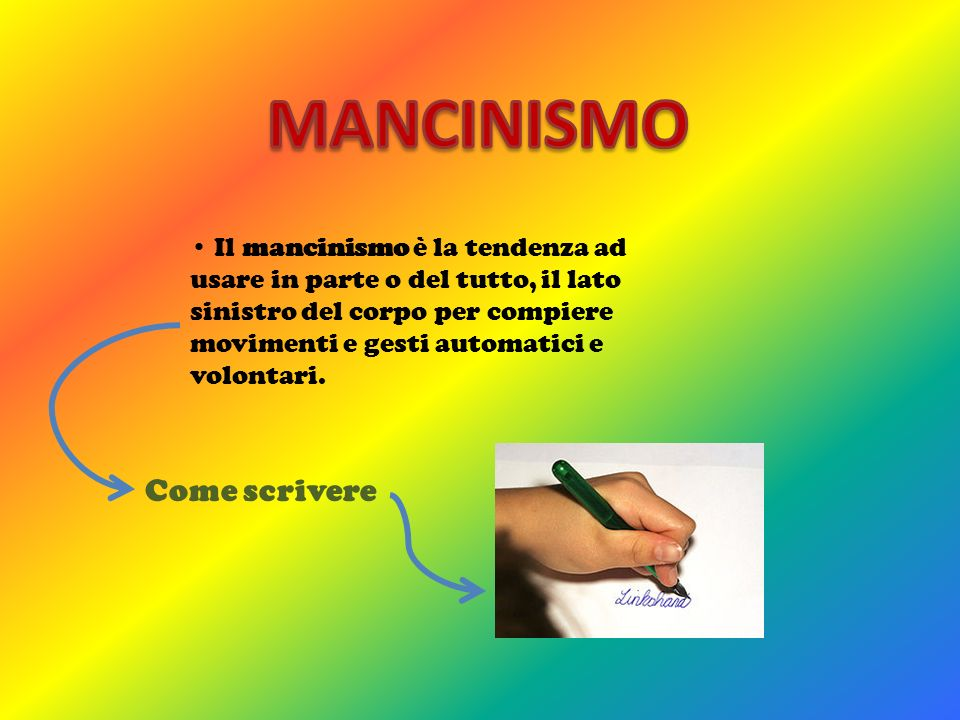 MANCINISMO Come scrivere