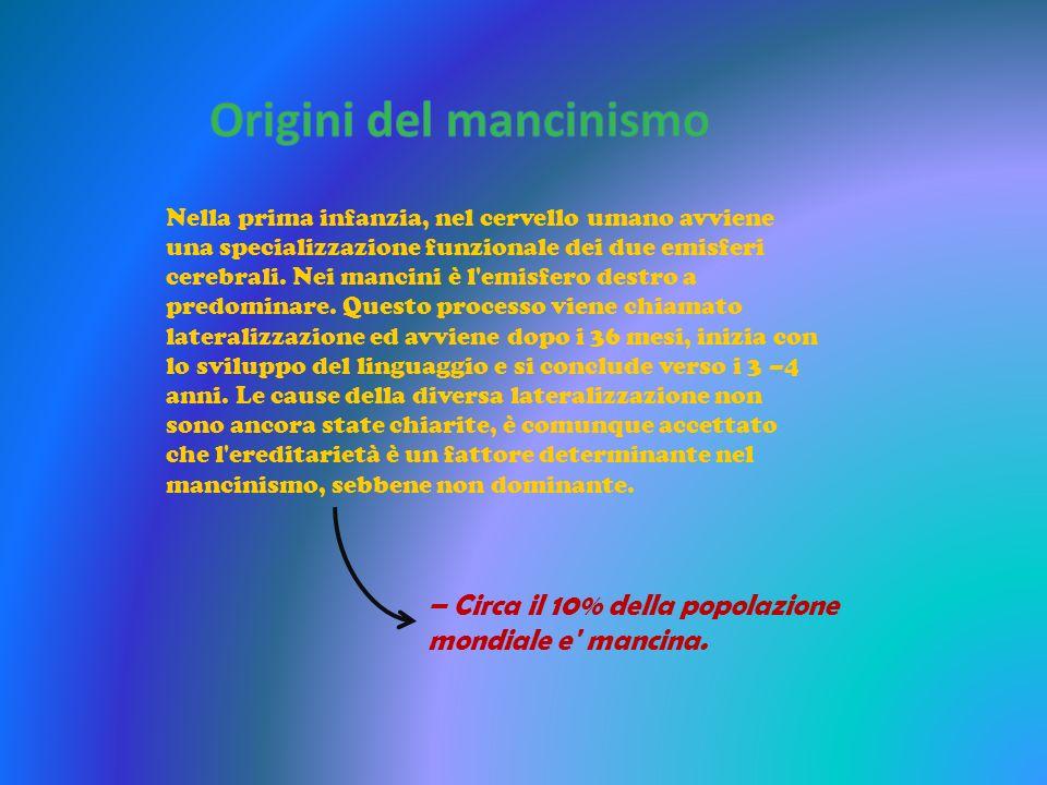 Origini del mancinismo