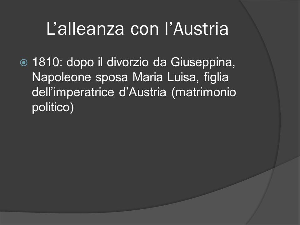 L'alleanza con l'Austria