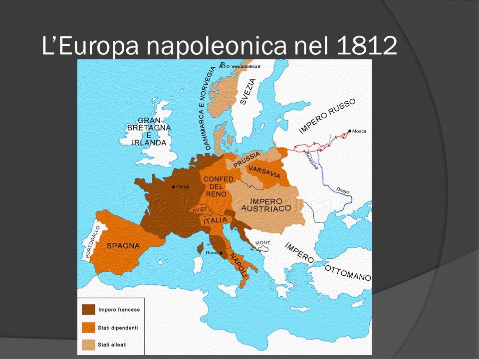 L'Europa napoleonica nel 1812