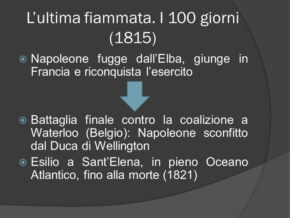 L'ultima fiammata. I 100 giorni (1815)