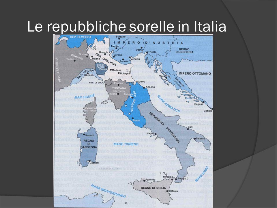 Le repubbliche sorelle in Italia