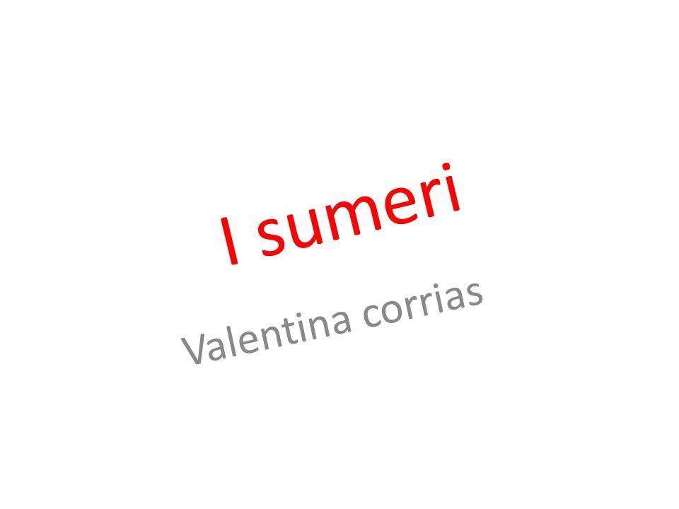 I sumeri Valentina corrias