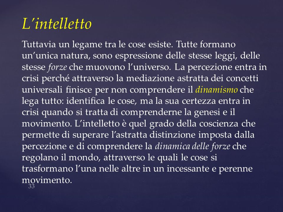 L'intelletto